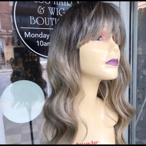 Accessories - Wig Deep Wave Ash Blonde Wig ombré